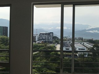 Beautiful apartment with view to the mountains