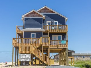 The Knotty Whale - Fresh 4 Bedroom Oceanside Home in Rodanthe