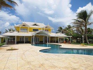 Richview villa with beautiful sea view in Plantations, Tobago