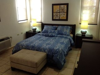 Cayo del Sol private & cozy 3 air-conditioned bedroom beach apartment near Buye