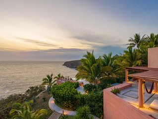 La Ceiba - Luxury Villa With Panoramic Views (Cliffside Pacific) at Careyes