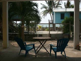 The Gumbo Limbo Studio - Ocean view and breeze on the reef side of Caye Caulker