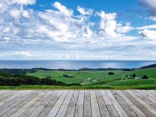 Johanna Beach Ocean Views, Eco-Friendly, 100 Acres Near 12 Apostles & Otways