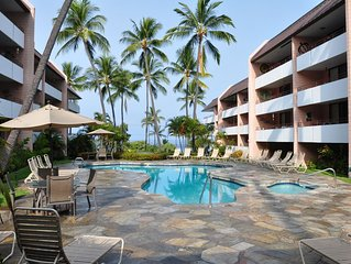 Quiet Condo across the street from White Sands Beach with Free Wi-Fi!