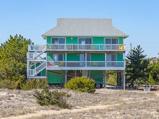 Anticipation - Welcoming 5 Bedroom Oceanfront Home in Salvo