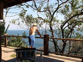 Casa com acesso exclusivo para o mar, costeira paradisíaca
