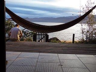 Casa a beira mar em Florianópolis - Ribeirão da Ilha