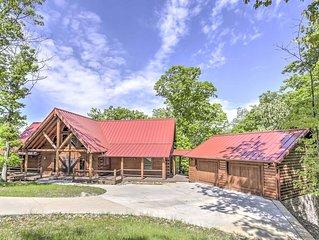 Private Eureka Springs Cabin w/ Beaver Lake Views!