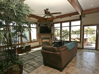 Ocean View Beach Home~Free Night Special~Roads End~Hot Tub~Pool Table~Sauna~WiFi
