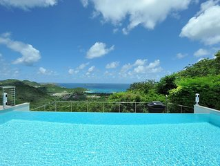 Long Heated Pool and Terrace Area, Sun Deck and Lounging Spots, Rental Car, Free