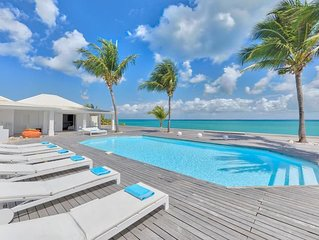 Beachfront Bliss, Heated Pool, Exclusive Gated Area, AC Throughout, Free Wifi, C