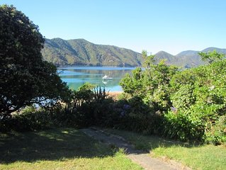 Remote beach-front house, boat access only