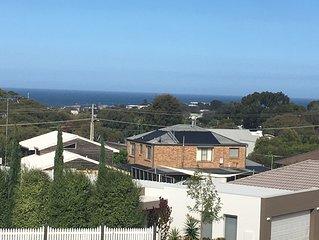 Ocean Views  Jan Juc  comfortably sleeps  9  Clean, bright and spacious