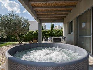 Mi Alma Villa - Amazing villa, 150m from the beach, pool, jacuzzi, BBQ etc.