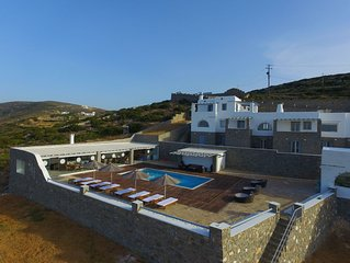 Villa Myrrine A Magnificent View High Quality Accommodation Absolute Relaxation