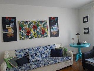 Apartamento amplo e confortável para até 8 pessoas,  na Enseada
