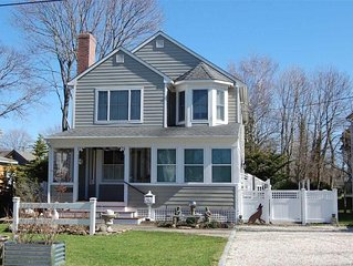 Greenport Escape - Walk to town, Central air! Great for families or couples.