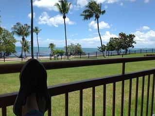 Haciendas Del Club Garden, Beachfront, Wifi, Full AC, ceiling fans, smart TV