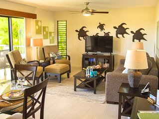 5 Star Reviews! Wailea Ekolu with Ocean Views & Great Location!