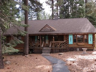 Lucky Tree Cabin in Tahoe Donner