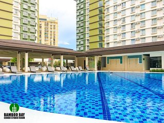 Brand New Condo (Fully Furnished) with Fast WIFI & Cable TV