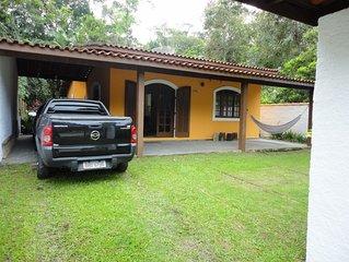Casa simples e agradavel para ate 8 pessoas em local tranquilo.