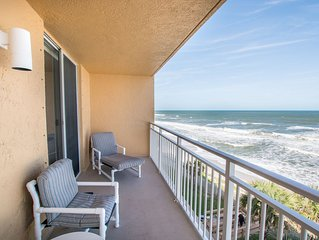 Beachfront Vacation Rental, Beautiful Views from the 5th story balcony.