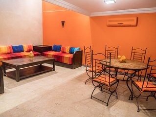Orange Duplex + Patio in the ❤ of Marrakesh Preview listing