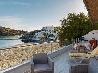 Modern Beach Front Condo South Crete