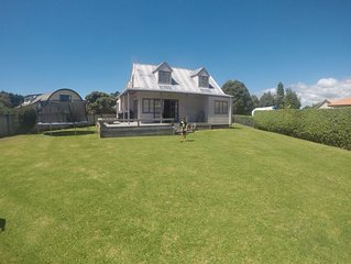Private family beach house