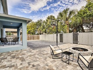 Modern Tampa Home w/Patio - 2 Miles From Downtown!