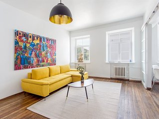 New Quiet & Cozy Apt in old town free parking Pamenkalnio
