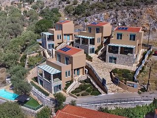 Ouzo Villas 2, Accessible 3BR villa at Ag. Isidoros, Plomari, Lesvos