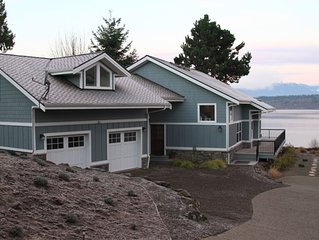 Charmingly Elegant High Bank Waterfront Home