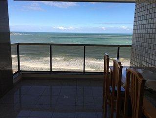 # Apartamento em Frente à Praia do Morro Guarapari - 4 quartos-10 pessoas
