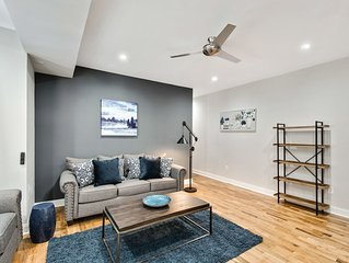 The Plumtree, Stylish 3BD Apt in Fairmount