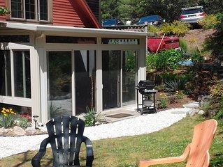 Delightful Post & Beam House Convenient to Beaches, Wellfleet & Provincetown