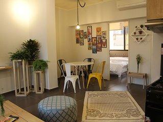 Comics Corner | Mar Mikhael, a spacious 2 bedrooms apartment in Beirut