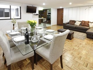 Beautiful apartment ideal for executives, families, the best zone of Mexico City