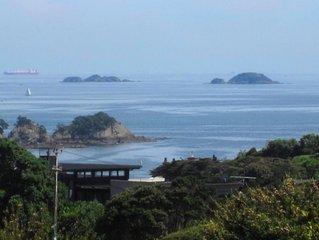 Beautiful land and sea views