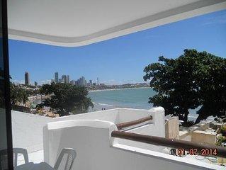 Apartamento com vista maravilhosa da baia de ponta negra ate a via costiera