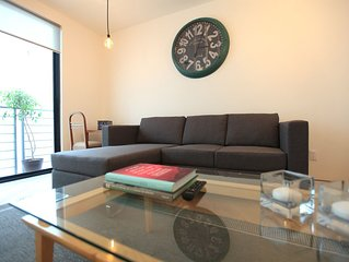 Modern apartment in Condesa 2 bedrooms, 2 bathrooms