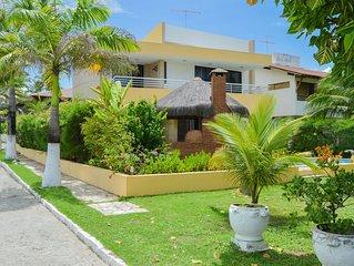 Casa de praia em Porto de Galinhas - MURO ALTO - 4 suites