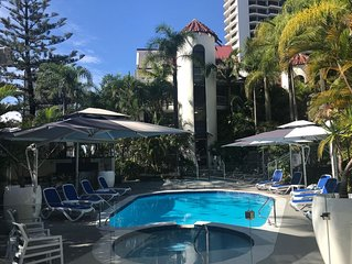 Boutique Beach Side One Bedroom Central Surfers Paradise