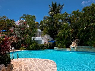 Gingerbread at Merlin Bay Barbados - 3 bedroom villa with Stunning Communal Pool