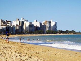 Apto 2qts, Praia Da Costa Vila Velha- Es, Prédio Frente Para O Mar