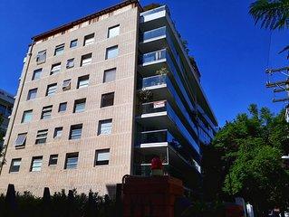 Exclusive 3B/3B 140m2 Apartment 5 minute walk to Parque Arauco in Vitacura