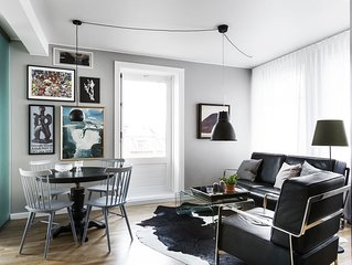 Stylish apartment in Downtown Reykjavik with Balcony