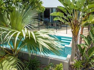 Cotton Beach Resort - Beachfront Apartment w/ Private Pool - Paradise Casuarina