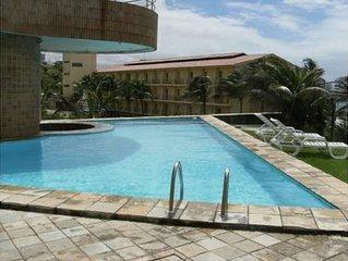 Flat, beira-mar, em Ponta Negra, Natal, RN